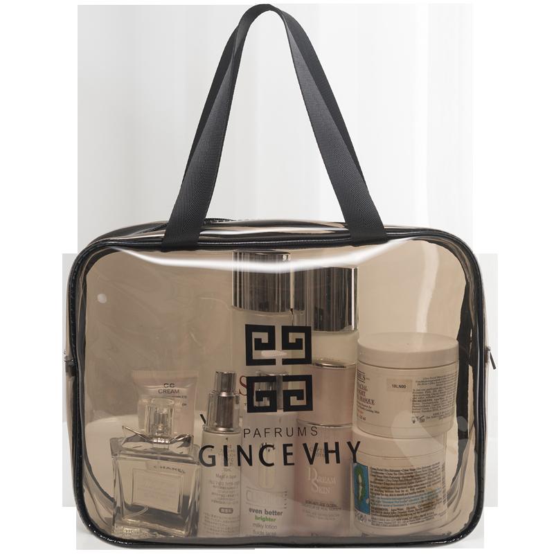 防水化妝包ins風超火女網紅大容量化妝品收納袋便攜小號洗漱包
