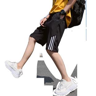 夏天ins男潮牌宽松运动五分裤短裤