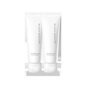 【3.8预售】荷诺益生菌氨基酸洗面奶120g*2温和深层弱酸性洁面女