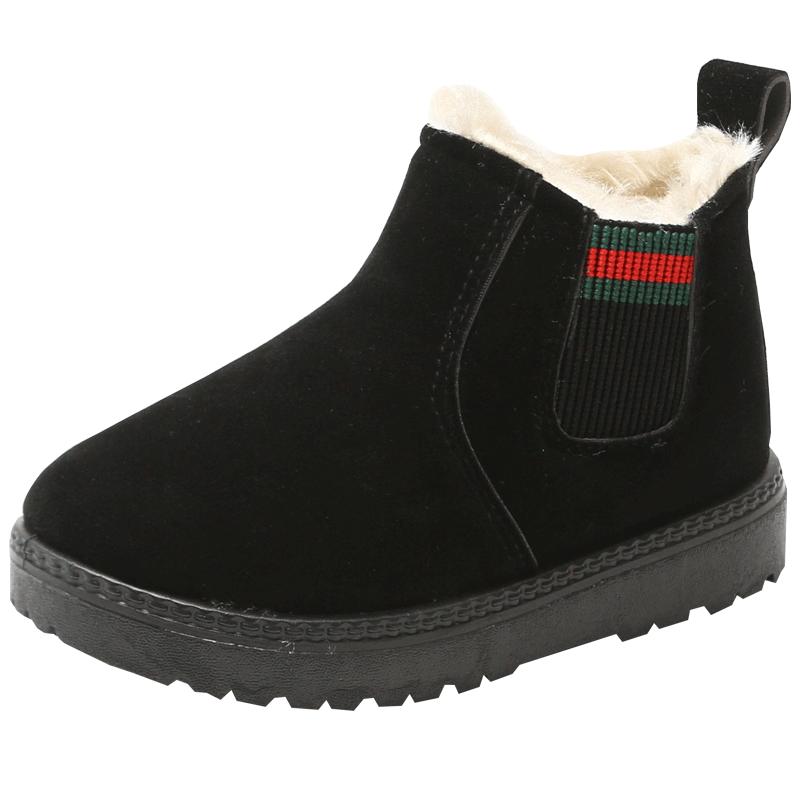 儿童冬季马丁靴