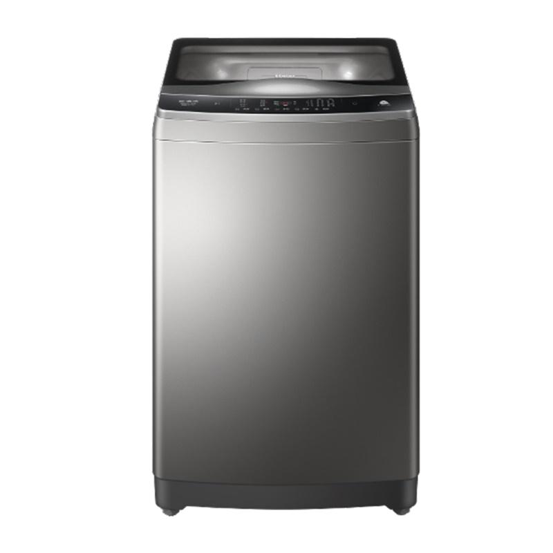 海尔免清洗波轮洗脱一体家用10公斤大容量幂动力全自动变频洗衣机