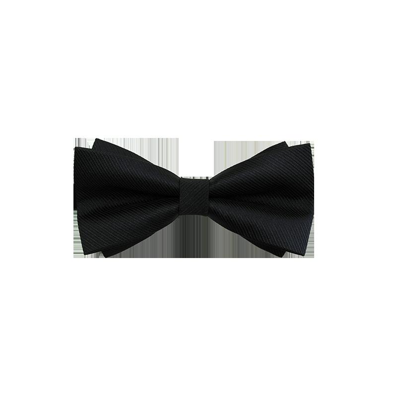 男士蝴蝶结领结男结婚新郎伴郎西装衬衫兄弟团年会黑色英伦领带潮