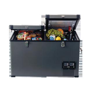 英得爾車載冰箱H65車家兩用壓縮機小冰箱汽車冷凍冷藏12V24V