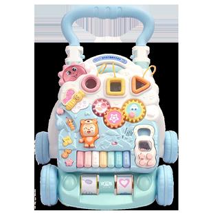 優樂恩嬰兒學步車寶寶手推車學走路多功能兒童6-18個月助步玩具車