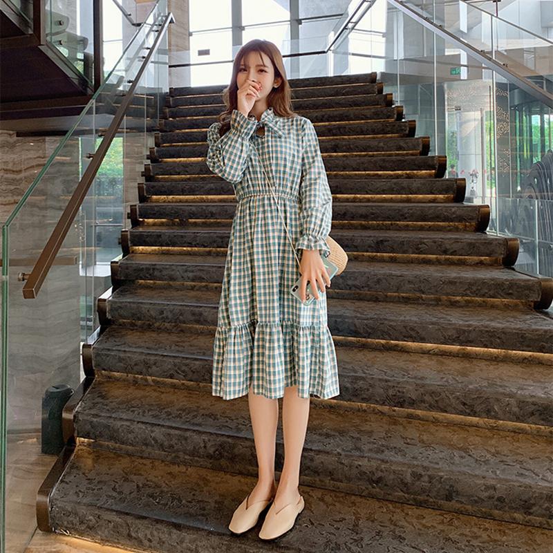 法国小众梗桔初恋egg法式复古裙子券后142.20元