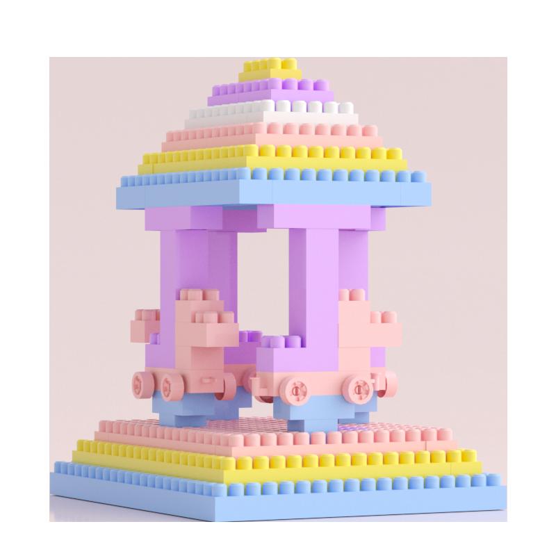 儿童益智塑料积木玩具