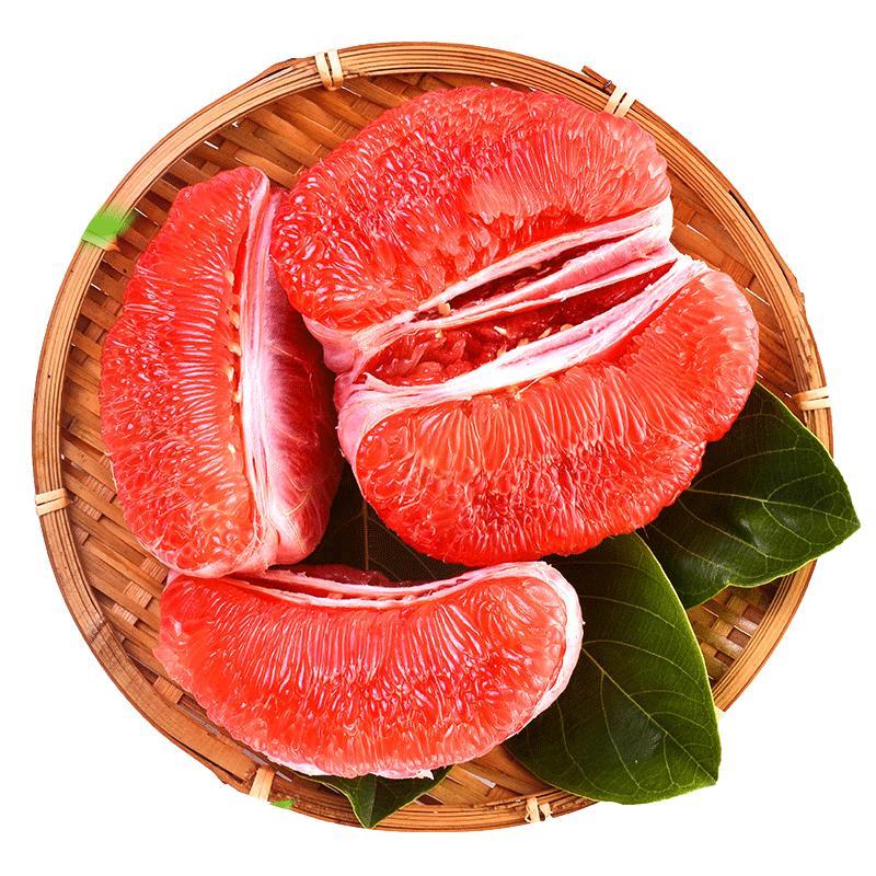 【产地直发】福建平和琯溪蜜柚多汁红肉红心柚子带箱10斤新鲜水果