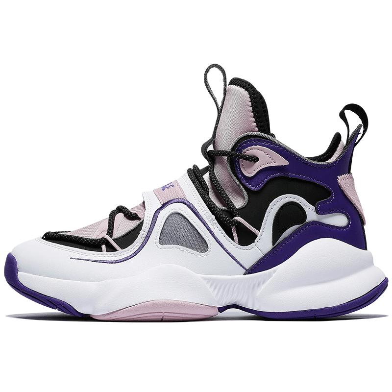 乔丹篮球鞋女2020新款破茧高帮透气女学生球鞋缓震耐磨防滑运动鞋