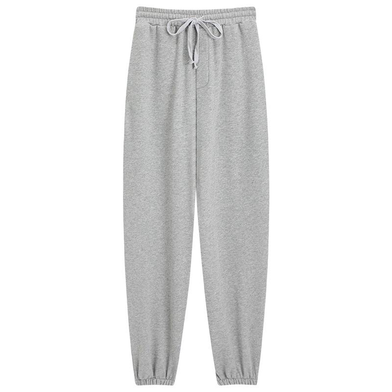 灰色夏季宽松束脚裤显瘦休闲哈伦裤评价如何?