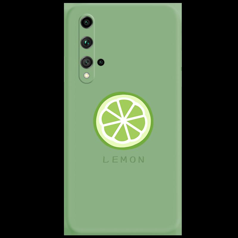 华为荣耀20液态硅胶手机壳