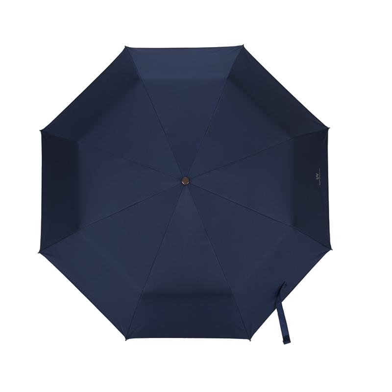 沁柚折叠自动雨伞女晴雨两用遮阳伞防晒防紫外线太阳伞少女心ins