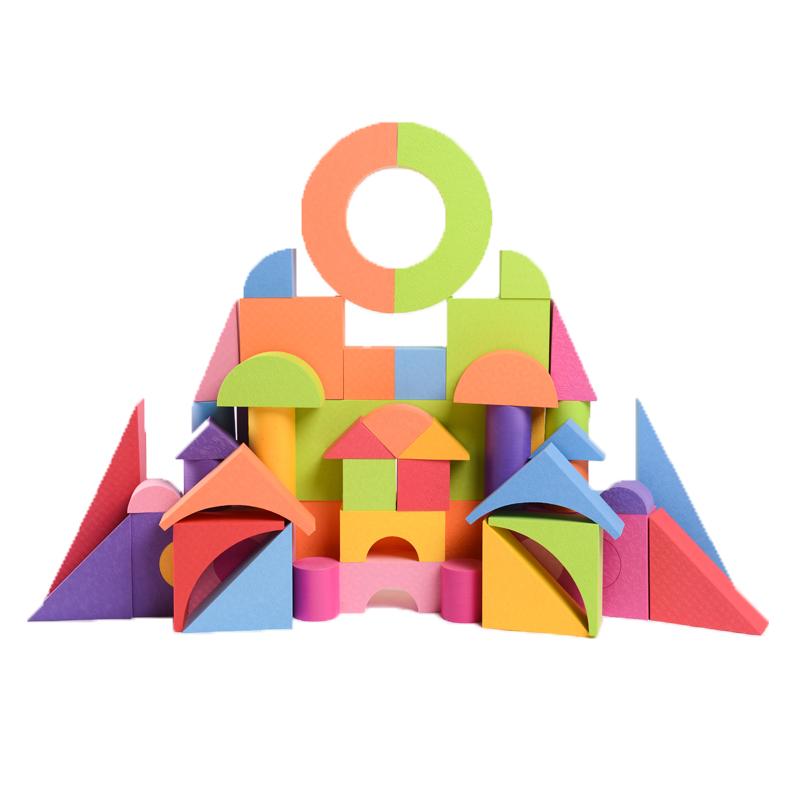 【斯尔福】泡沫积木海绵益智儿童拼装玩具