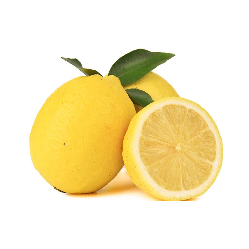 安岳新鲜黄柠檬25个小果柠檬水果鲜柠檬皮薄多汁批发包邮