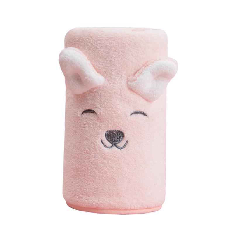 可爱男女儿童洗脸比纯棉珊瑚绒面巾好不好