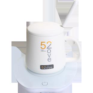 暖暖杯55度自动保温底座加热器