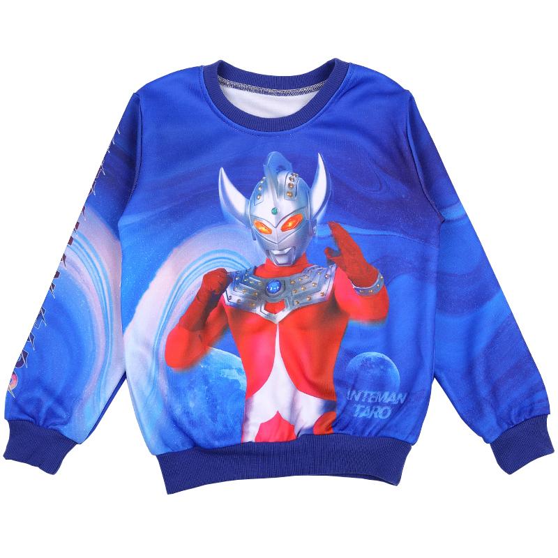 新款咸蛋超人儿童春秋款套装表演服