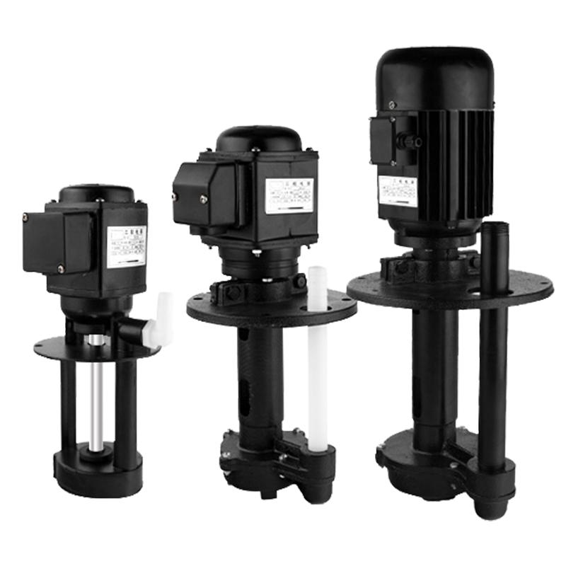 韩狮机床冷却泵车床油泵切割循环冷却水泵单相三相380V数控磨床泵