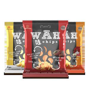 拍2件12包WAH薯片