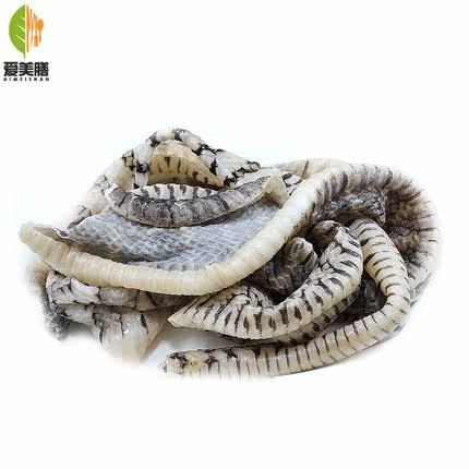 养殖冷冻新鲜蛇皮凉拌生鲜食材美食