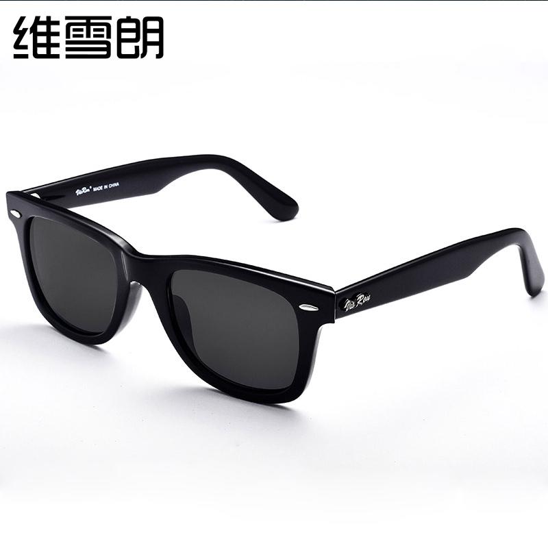 太阳镜男士近视墨镜带有度数的司机镜复古开车眼镜圆脸偏光镜高清