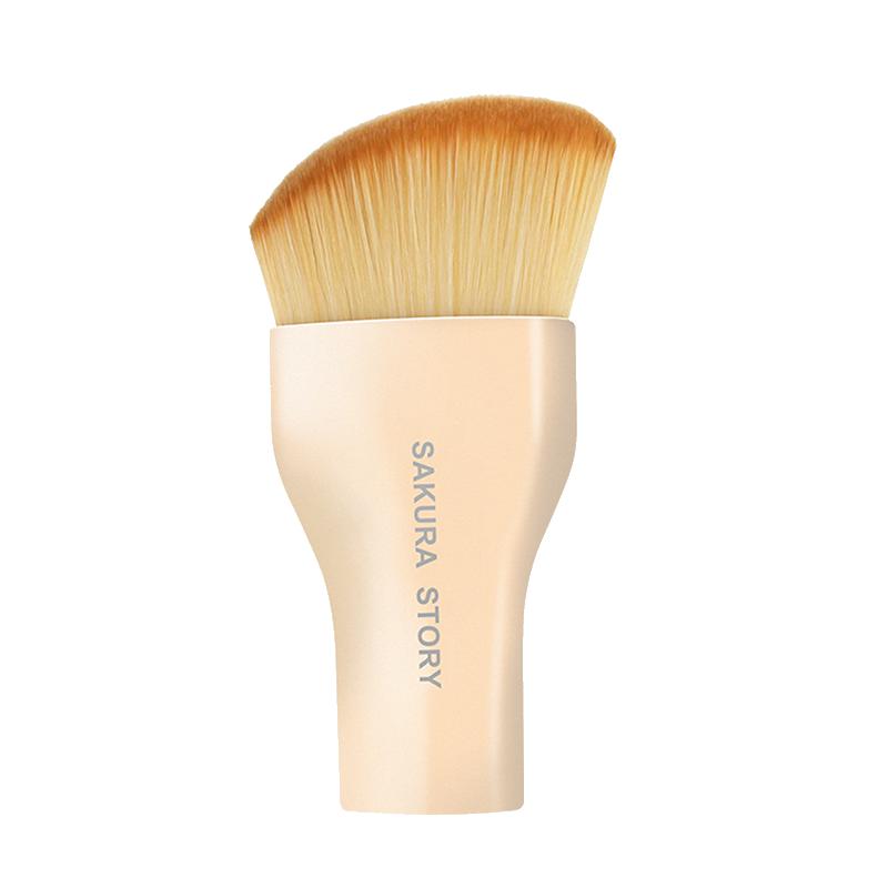 樱花物语弧形粉底液刷BB霜修容刷软毛无痕底妆刷便携高光刷化妆刷