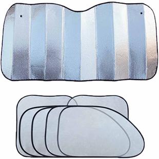 汽車用防曬隔熱遮陽擋遮光簾擋陽板車內前擋風玻璃車窗貼太陽檔罩