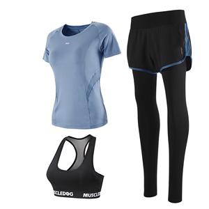 运动套装夏网红健身房锻炼服瑜伽服