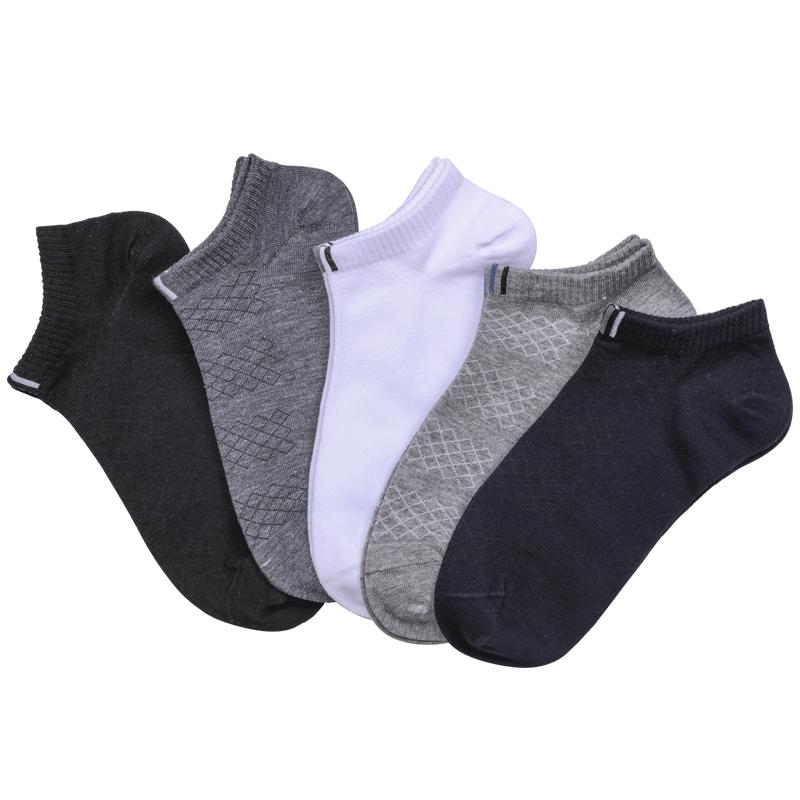 男士短筒袜子5双