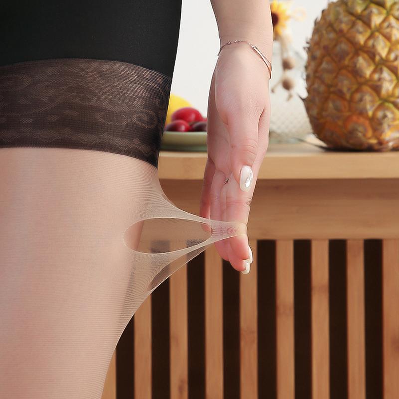 防狼丝袜女薄款菠萝袜防勾丝升级版安全裤二合一网红防走光任意剪