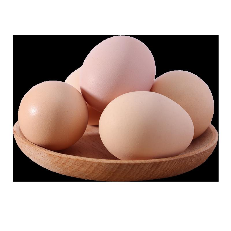 农家散养新鲜头窝蛋初生蛋土鸡蛋婴儿宝宝孕妇月子蛋初产蛋40枚