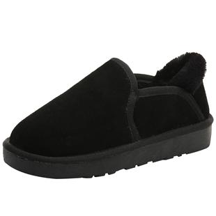 懒人一脚蹬低帮短筒2020新款雪地靴
