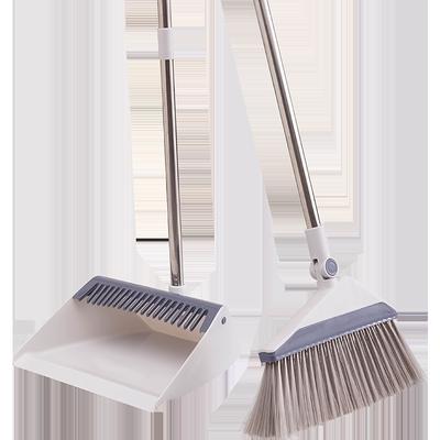 快立洁扫把簸箕套装家用扫地笤帚组合单扫帚不粘头发扫地懒人神器