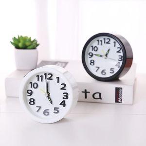 男女迷你小台钟桌面摆件电子钟表便携简约创意静音床头学生闹钟
