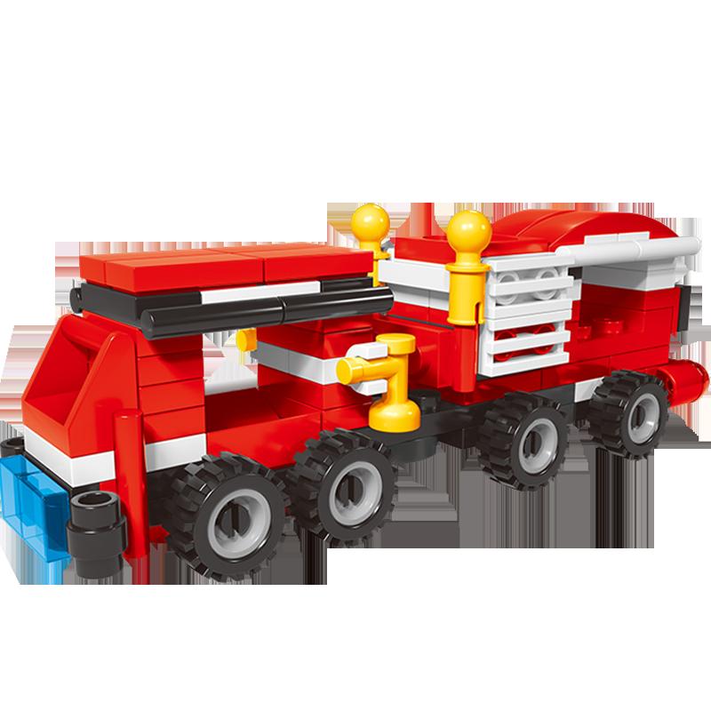 【启智乐】城市拼装积木益智玩具
