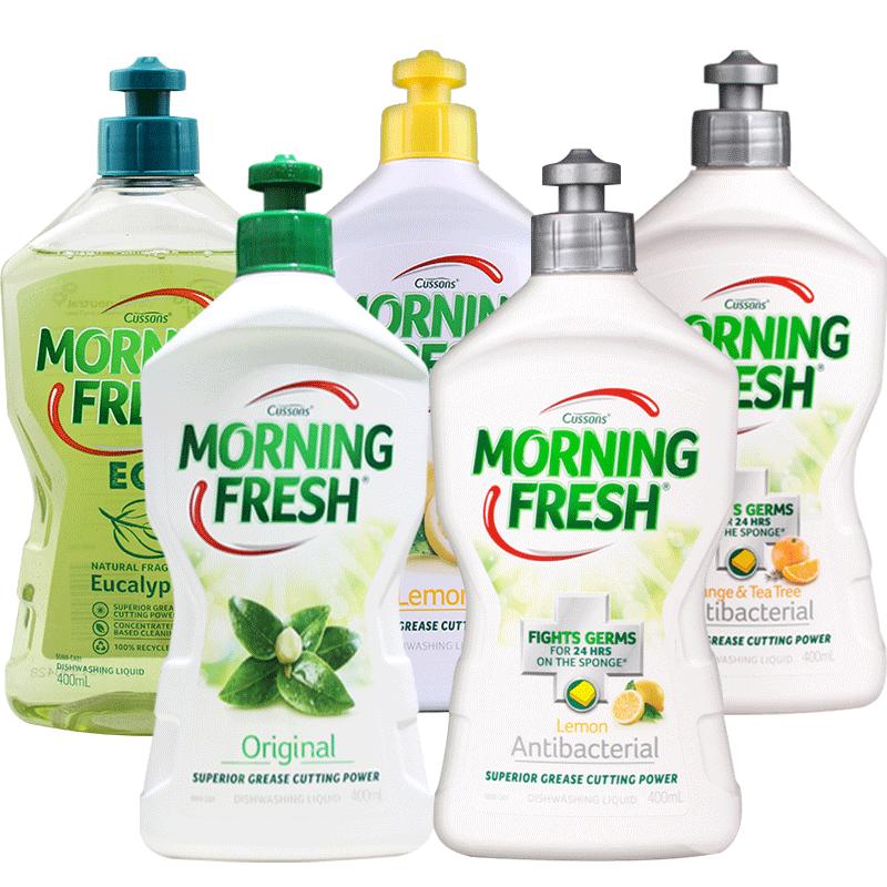 澳洲进口morning fresh洗洁精小瓶浓缩洗碗液洗涤灵剂家用餐具净