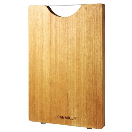 三木家用防霉抗菌实木厨房黄金檀木