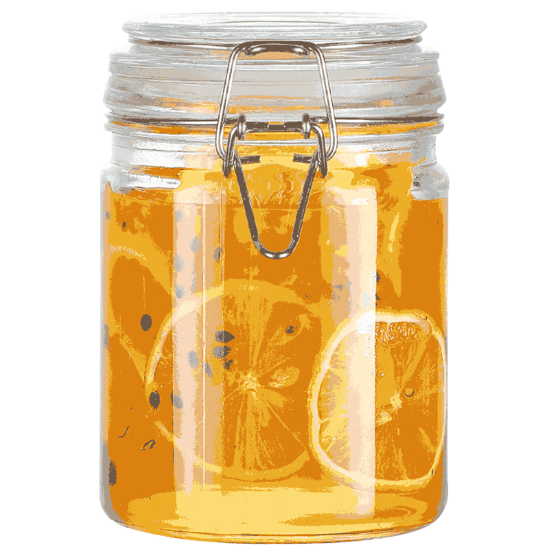 密封罐玻璃罐子食品级储存保鲜收纳瓶家用泡菜装柠檬蜂蜜百香果罐