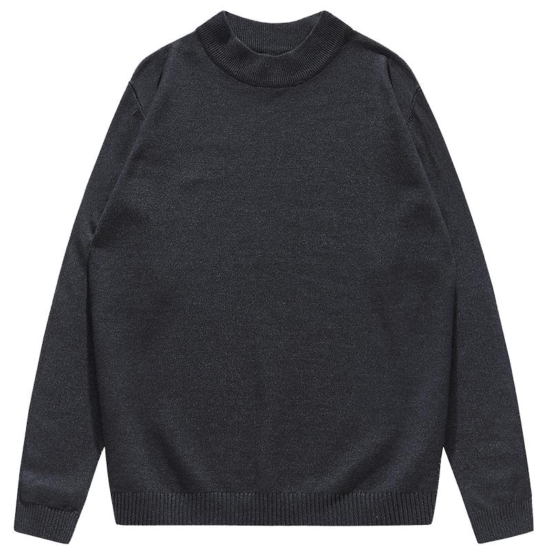 秋冬新款长袖线衣潮流毛衫