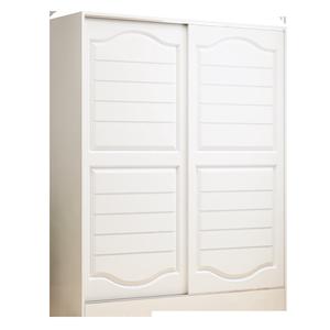 推拉门衣柜实木现代简约卧室经济型