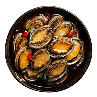 大鲜浪 麻辣鲍鱼罐头即食鲜活个大海鲜熟食即食麻辣罐装小鲍鱼仔