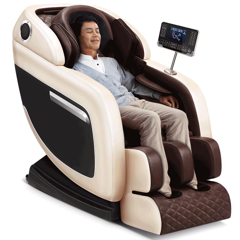 德国佳仁电动新款按摩椅全自动家用小型太空豪华舱全身多功能老人