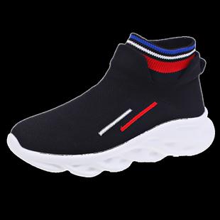 弹力袜2019秋季网红袜子鞋超火靴子