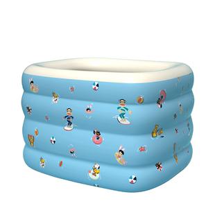 大嘴猴嬰兒游泳池家用充氣超大號可摺疊兒童游泳小孩寶寶洗澡桶