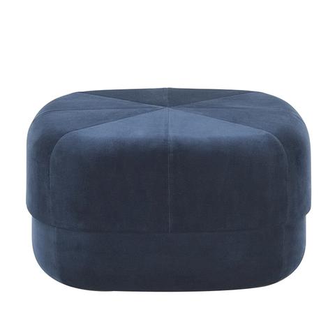 北欧布艺沙发脚踏凳茶几小圆凳子家用换鞋凳客厅坐墩时尚创意矮凳