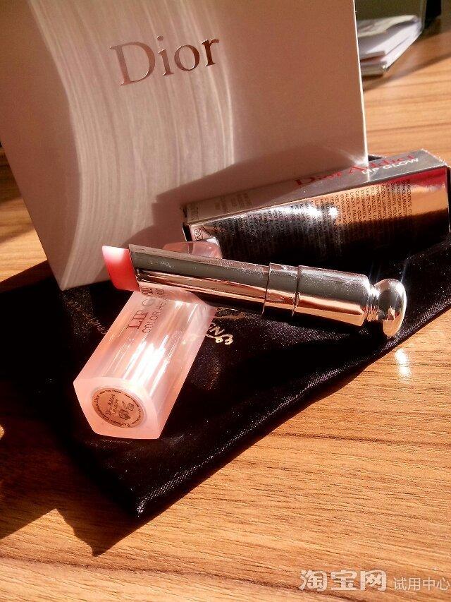 口红排行榜前十名—Dior魅惑润唇膏变色效果试用体验