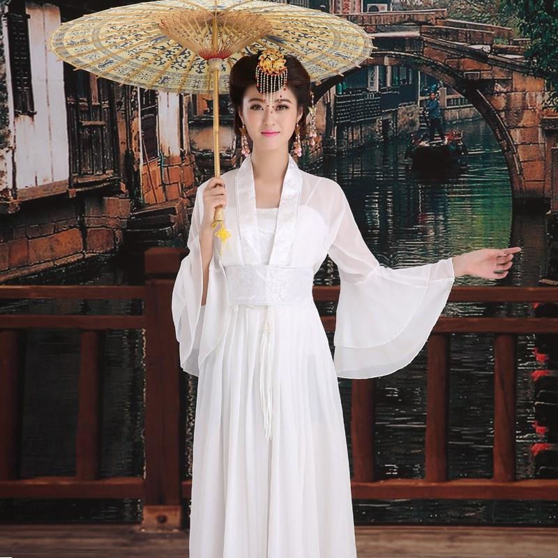 古装服装仙女唐朝演出服古典舞蹈公主女装唐装戏服改良汉服夏学生