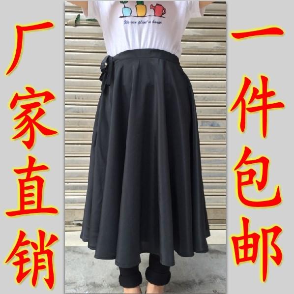 Женский новый Синьцзян Uygur танцы юбка практике юбка юбка пряжи фасон средней длины Национальные танцоры исполняют большую юбку 720 градусов