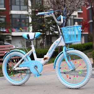 折叠儿童自行车20寸16/18寸男女孩5-7-8-9-10-12岁折叠款小学生车