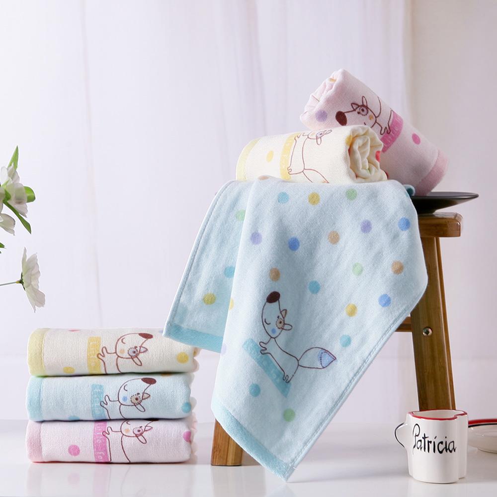 金号毛巾纯棉三条双层纱布成人洗脸家用情侣面巾柔软吸水可装礼盒
