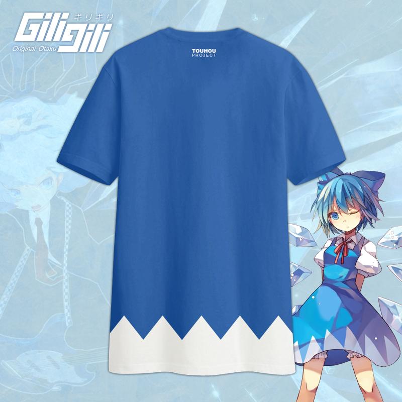 GiliGili原创东方project琪露诺衣服游戏动漫周边短袖T恤